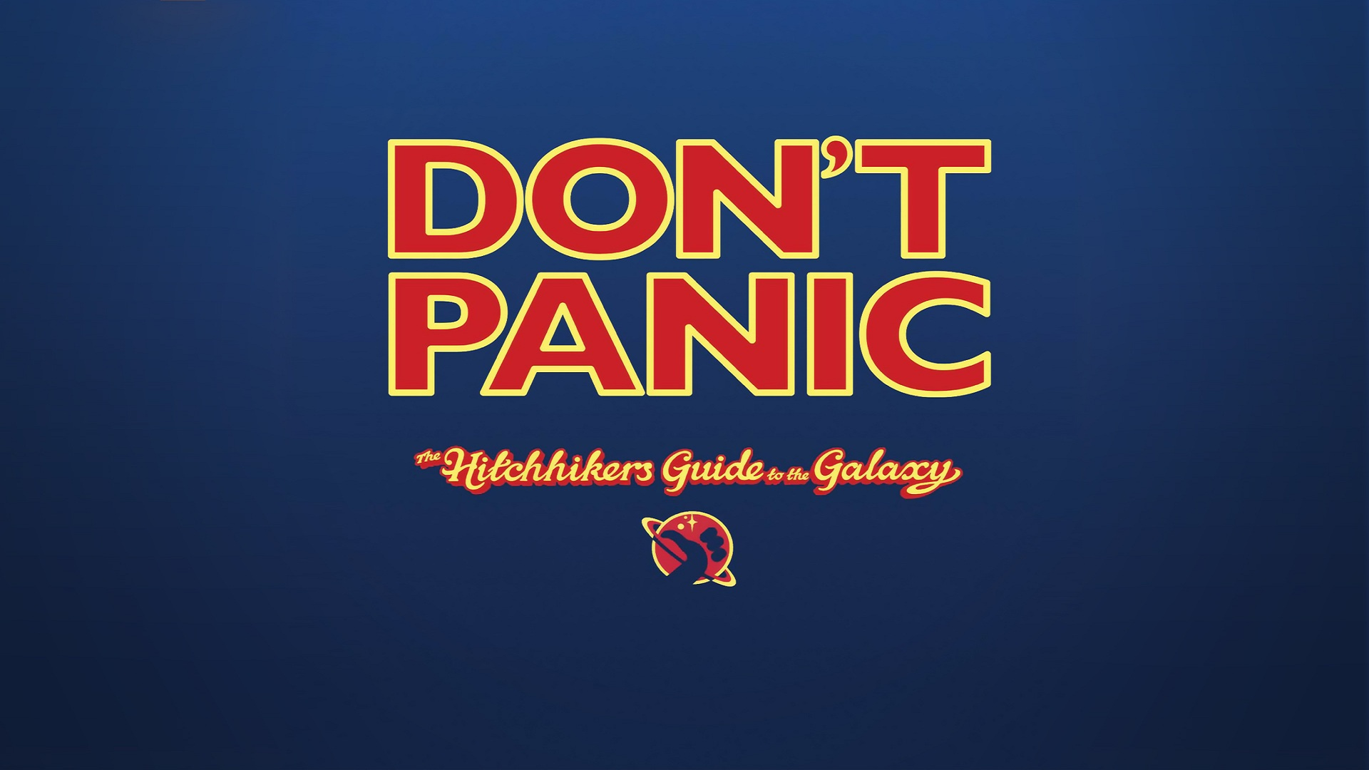 the hitchhikers guide to the galaxy The hitchhiker's guide to the galaxy one of the last surviving members of the  human race, arthur dent, still in his dressing gown, is dragged through an.