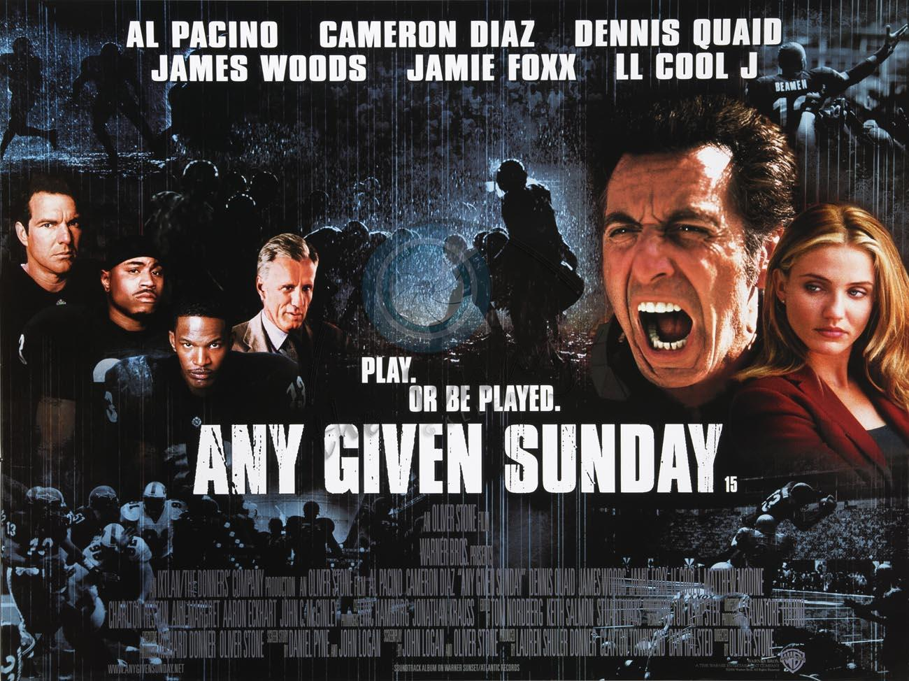 spend your any given sunday somewhere else � shmeeme